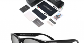 Sensolatino_Sunglasses_Italia_Mod_Capri_Black_Coloured_Frame_with_Gray_Polarised_Lenses