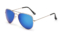 AVIANO METAL GOLD SMALL WITH BLUE MIRRORED TAC POLARIZED LENSES