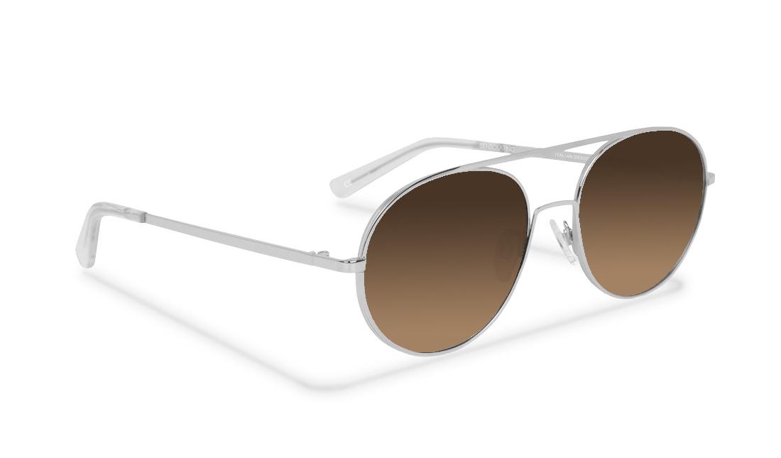 SL014SS_Sensolatino Sunglasses Serie SANTORINI WITH BROWN POLARIZED LENSES