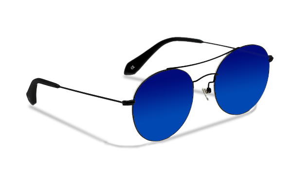 SLG03_Sensolatino Sunglasses Serie GENEVA WITH BLUE POLARIZED LENSES