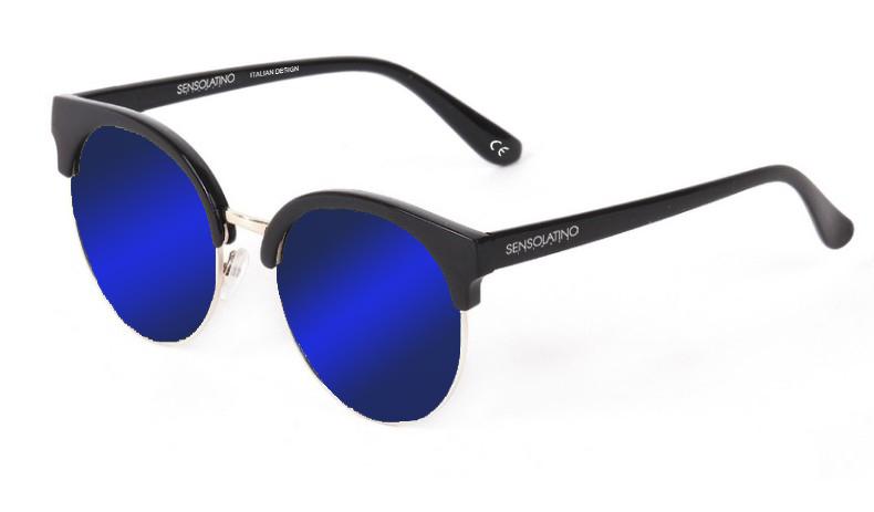 SLM03_Sensolatino Sunglasses Serie Miami WITH BLUE MIRRORED POLARIZED LENSES