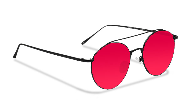 SLMY12_Sensolatino Sunglasses Serie Italia MYKONOS WITH PINK POLARIZED LENSES