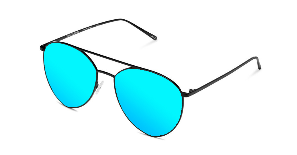 SLP07_Sensolatino Sunglasses Serie Portocervo WITH ICE BLUE POLARIZED LENSES