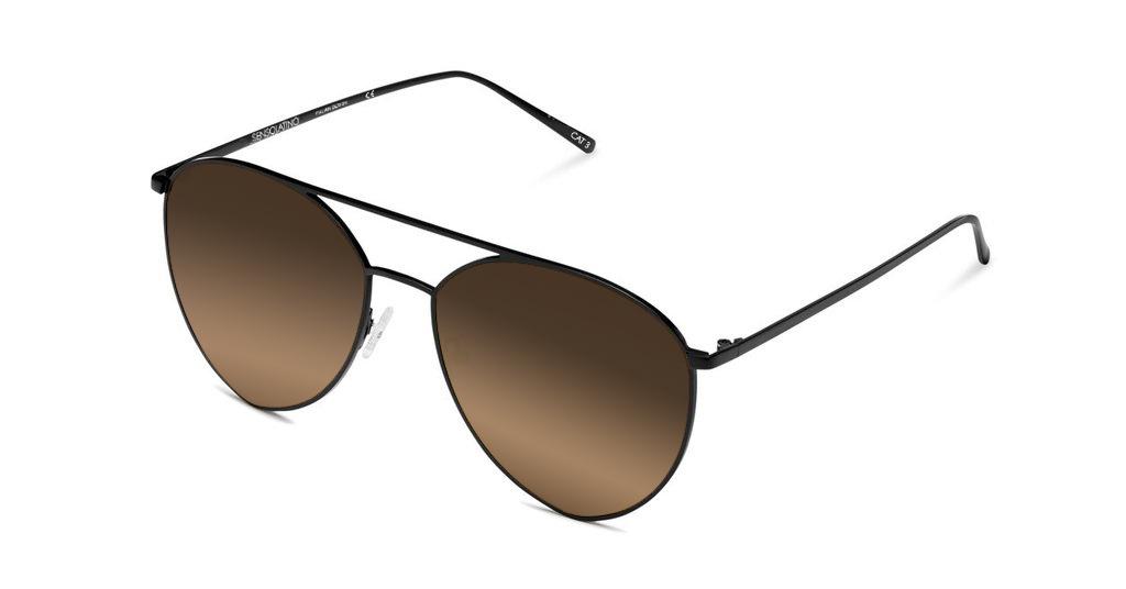 SLP13_Sensolatino Sunglasses Serie Portocervo WITH BROWN POLARIZED LENSES