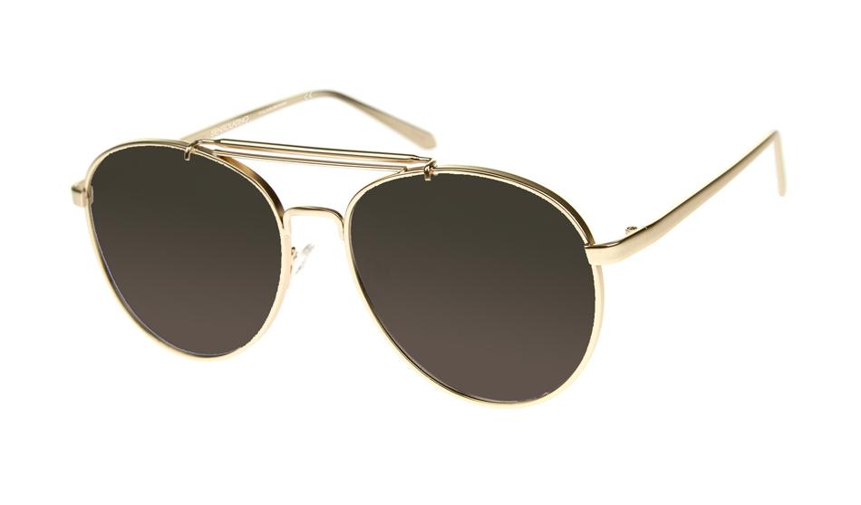 SLPS01_Sensolatino Sunglasses Serie Positano WITH BLACK POLARIZED LENSES Front