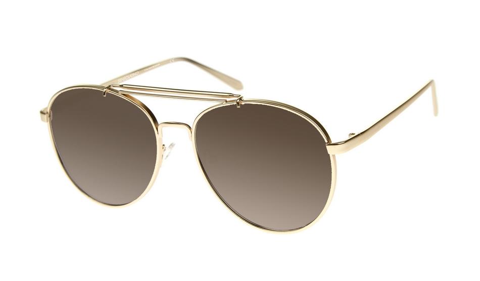 SLPS13_Sensolatino Sunglasses Serie Positano WITH BROWN GRADIENT POLARIZED LENSES Front