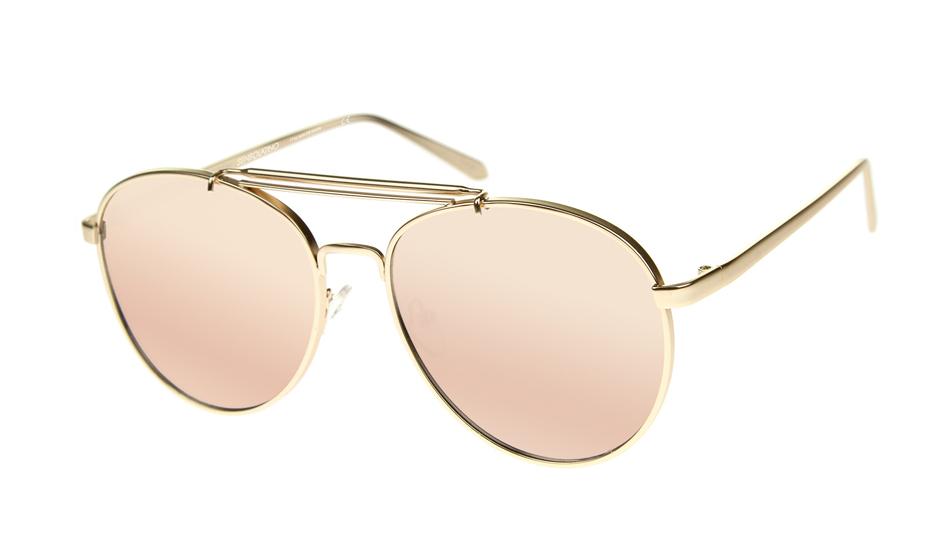 SLPS15_Sensolatino Sunglasses Serie Positano WITH FUCHSIA MIRRORED POLARIZED LENSES Front