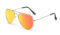AVIANO METAL GOLD LARGE WITH ORANGE MIRRORED TAC POLARIZED LENSES