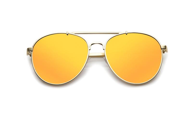 SLPS10_Sensolatino Sunglasses Serie Positano WITH ORANGE MIRRORED POLARIZED LENSES