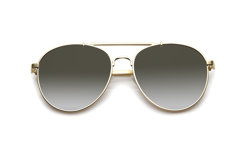 SLPS13_Sensolatino Sunglasses Serie Positano WITH GRADIENT BLACK POLARIZED LENSES