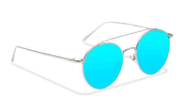 SLM01_Sensolatino Sunglasses Serie Monaco ICE BLUE POLARIZED LENSES