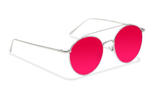 SLM01_Sensolatino Sunglasses Serie Monaco PINK POLARIZED LENSES