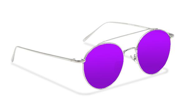 SLM01_Sensolatino Sunglasses Serie Monaco VIOLETTE POLARIZED LENSES