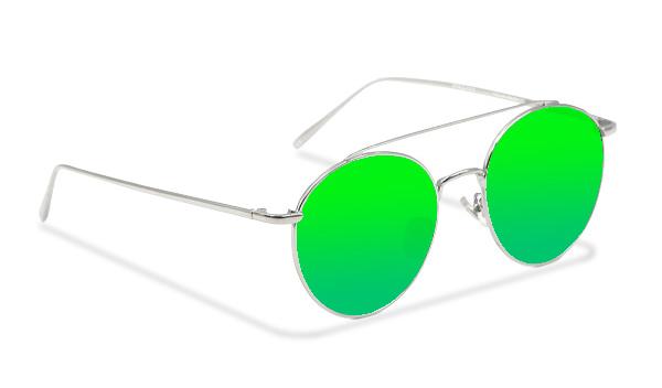 SLM09_Sensolatino Sunglasses Serie Monaco GREEN POLARIZED LENSES