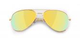 SLAV-05 0608410030442 SENSOLATINO® SERIES AVIANO LARGE GOLD FRAME WITH GOLD POLARIZED LENSES-F