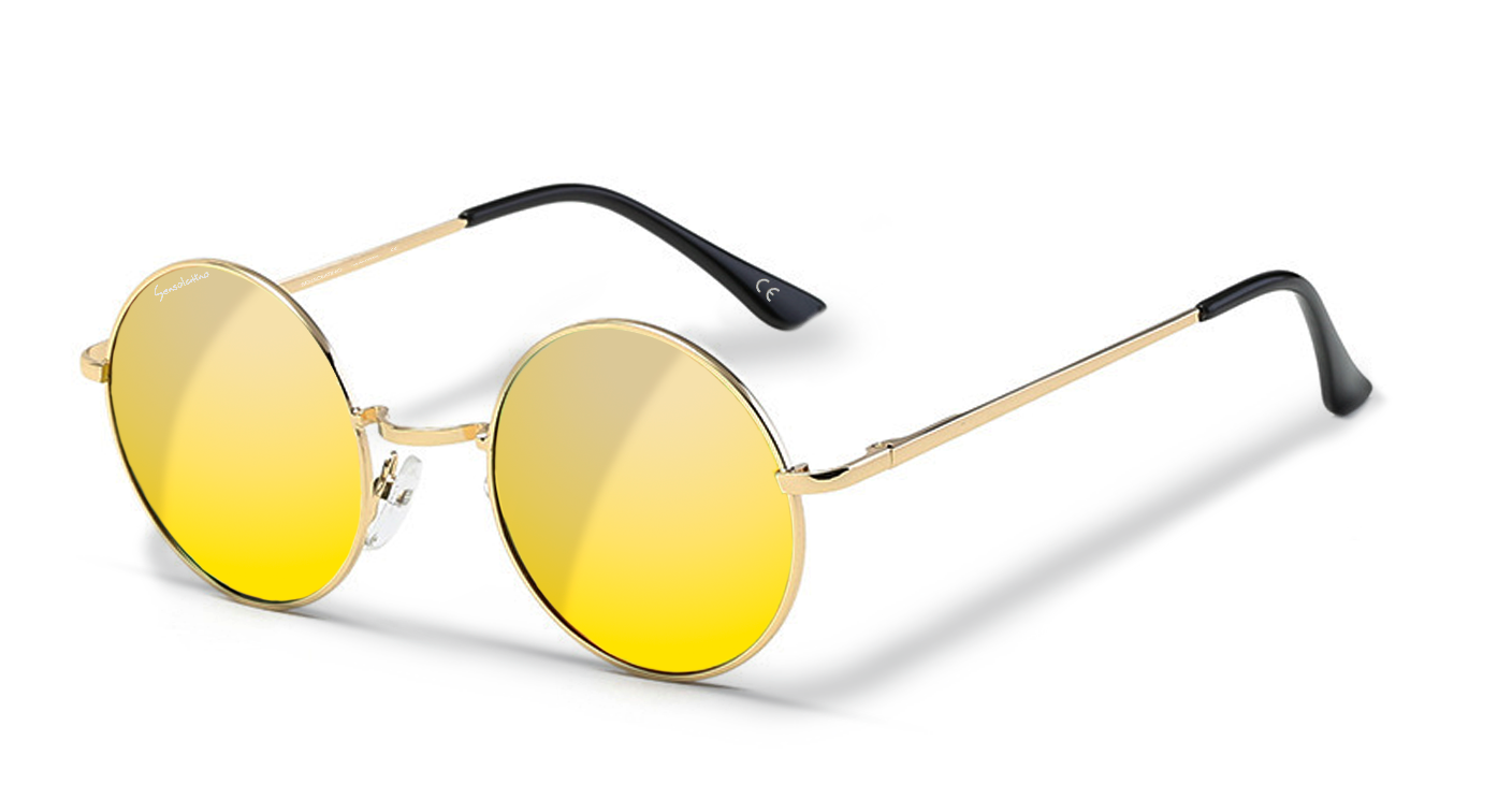 110567a31ea4 ST.TROPEZ WITH GOLD POLARIZED LENSES