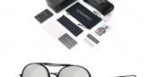 Sensolatino_Sunglasses_Positano_Black_Coloured_Frame_with_Silver_Polarised_Lenses
