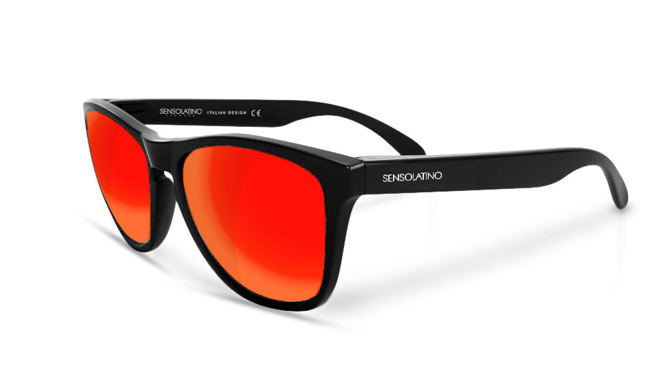 fc861013f0 SensoLatino® Italia Mod. Rome with Red Polarized Lenses