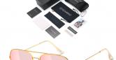Sensolatino_Sunglasses_Aviano_Large_Gold_Coloured_Frame_with_Fuchsia_Polarised_Lenses-1