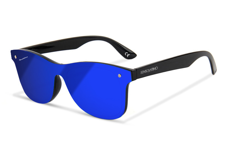 SLRI03_644925934004_SENSOLATINO_SUNGLASSES_RIMINI_WITH_BLACK_FRAME_BLUE_MIRRORED_POLARIZED_LENSES_F