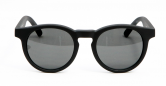 SENSOLATINO 768563624834 MADE IN ITALY MOD. PLACIDO MATTE BLACK FRAME WITH BLACK LENSES