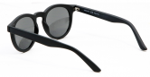 SENSOLATINO 768563624834 MADE IN ITALY MOD. PLACIDO MATTE BLACK FRAME WITH BLACK LENSES (2)